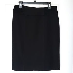 WHBM black pencil skirt EUC